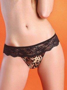 Branta stringi - skutecznie uwodzicielskie z motywem cętek jaguara PROMOCJA!