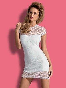 Dressita sukienka i stringi biała - odkrywająca plecy sukienka z białej koronki WYPRZEDAŻ!