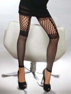 Merve - legginsy z dużymi oczkami