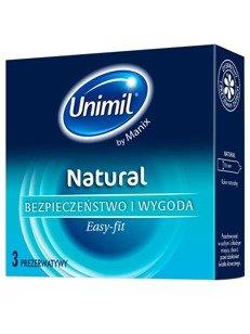 Natural - klasyczne prezerwatywy (3 szt.)
