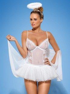 Swangel kostium 6-częściowy - grzeczny anioł czy kusząca baletnica?