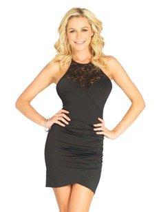 Victoria sukienka – czarna – gwarancja olśniewającego wyglądu