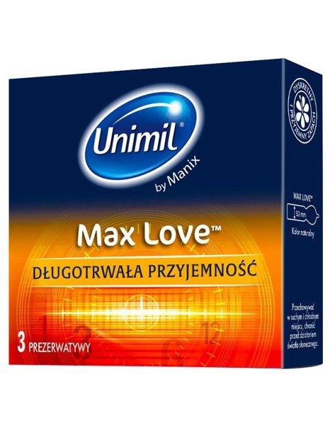 Max Love - długotrwała przyjemność (3 szt.) - NC03MLPL