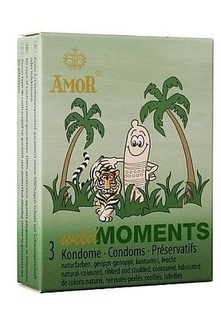 Wild Moments - z wypustkami i użebrowaniem (3 szt.) - AM-WILD_MOMENTS_3