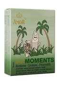 Wild Moments - z wypustkami i użebrowaniem (3 szt.)